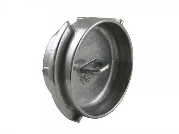 TW Blindstopfen Typ VB aus Aluminium, EN14420-6
