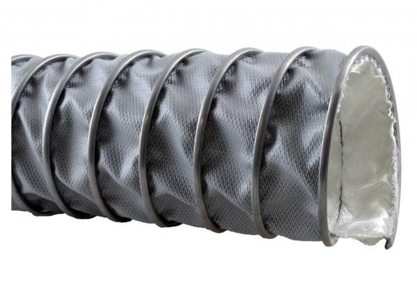 Absaugschlauch FLEXADUX® HT 450 CL - max. +450°C