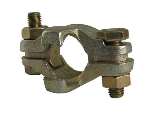 Schlauchklemmen 2-teilig mit losen Zungen und Sicherungsklauen - DIN20039