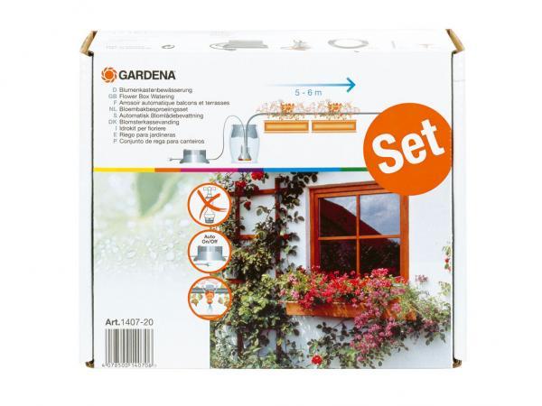 Vollautomatische Blumenkastenbewässerung, GARDENA 1407-20