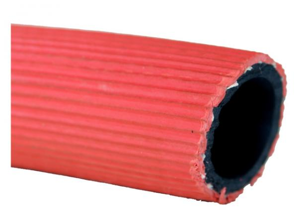 Gummi Wasserschlauch rot