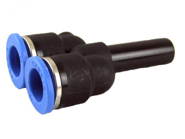 Y-Steckverbindung Abzweige mit Stecknippel, Pneumatik IQS