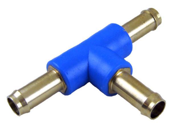 T-Steckverbinder Messing PN 10, Pneumatik