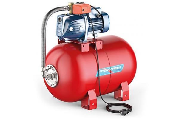 PEDROLLO Hauswasserwerk Hydrofresh PLURIJETm 4/80X