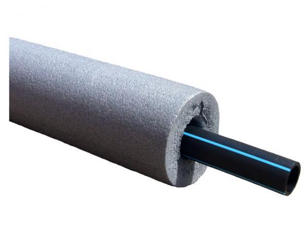 Rohrisolierung aus PE, 13 mm stark