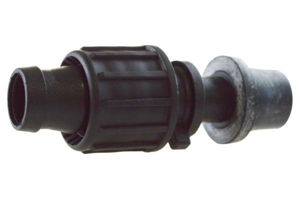 863 Startverbinder - Tape / PE Rohr mit Gummieinsatz