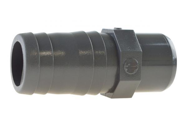 Schlauchtülle mit Klebestutzen, PVC-U