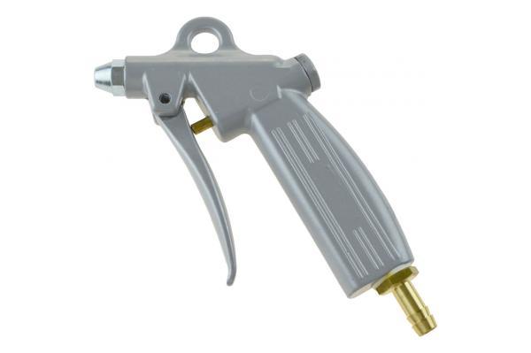 Ausblaspistole mit Kurzdüse, Aluminium