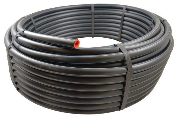 PE-HD Rohr, Trinkwasser-Druckrohr, DVGW, PN 12,5