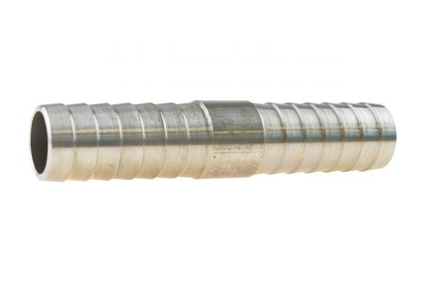 Doppelschlauchtülle, Verbindungstülle, Edelstahl V2A
