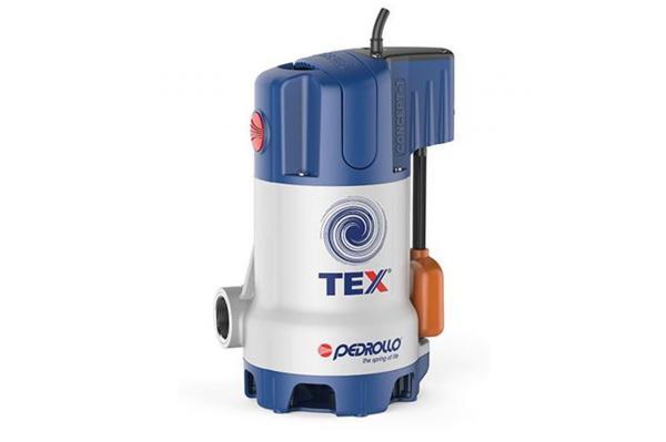 PEDROLLO Tauchmotorpumpe TEX 2, Edelstahl/KS