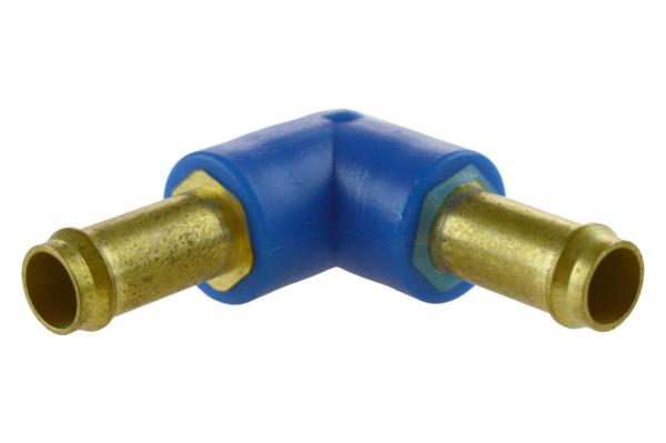 L-Steckverbinder, Winkelsteckverbinder, Messing, PN 10, Pneumatik