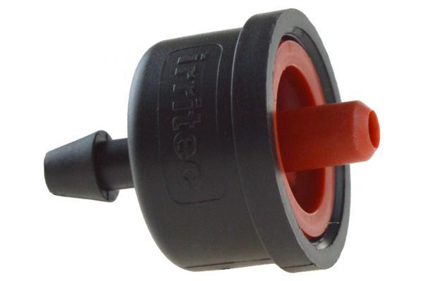 iDrop® DNG drucksensitiver Einzeltropfer, 8,2 l/h, rot