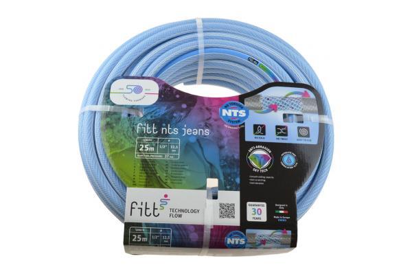 Premium Gartenschlauch NTS® JEANS, phthalatfrei - blau