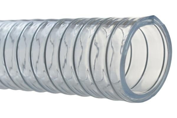 PVC Saug- und Druckschlauch mit Stahlspirale