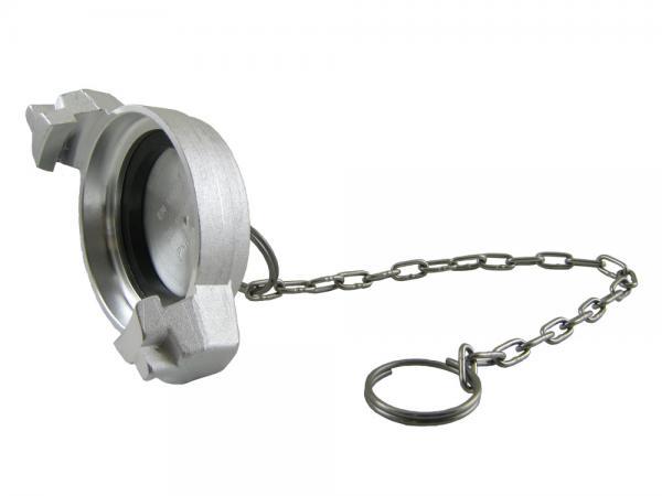 TW Blindkappe Typ MB aus Aluminium, EN14420-6