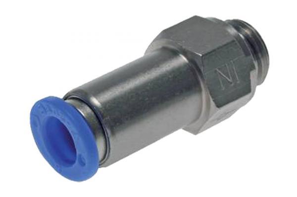 Rückschlagventil mit zylindrischem Außengewinde und Steckanschluss, Pneumatik IQS, Standard