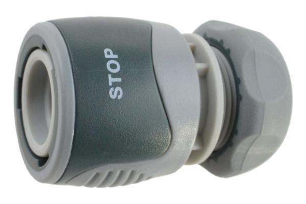 REHAU Comfort Schnellschlauchstück mit Wasserstopp, Kunststoff