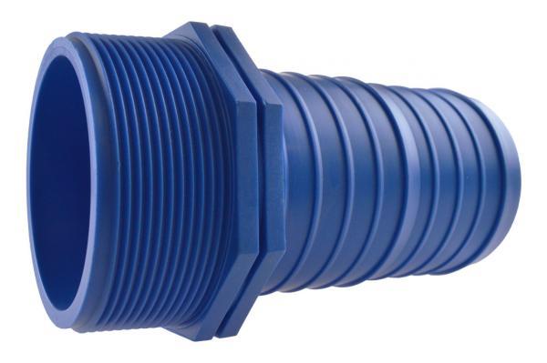 FLAT-HOSE Startverbinder für Flachschlauch mit Außengewinde