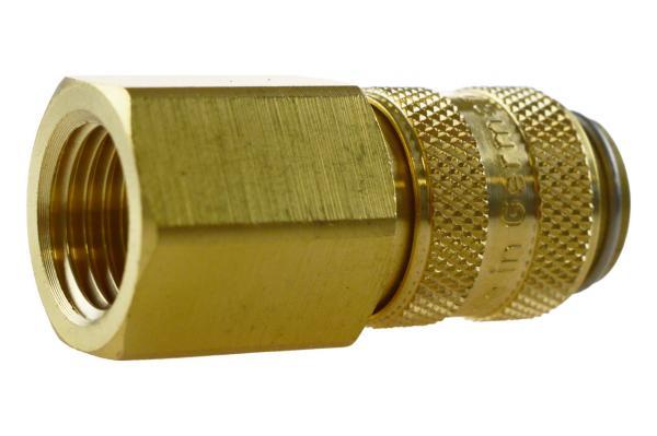 Druckluftkupplung NW 5 mit Innengewinde, Messing