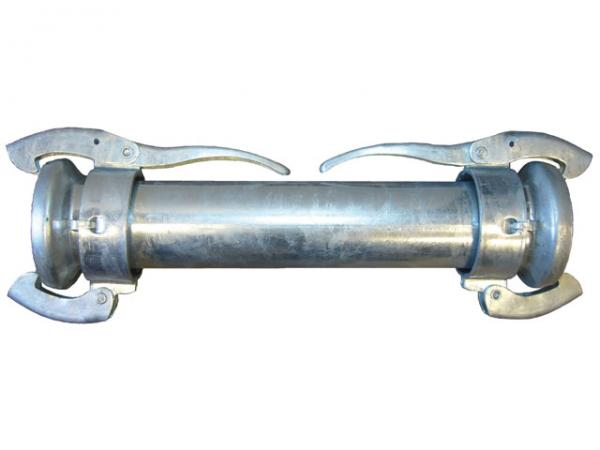 Übergangsstück mit M-Teilen, verzinkt - Perrot (KDMT)