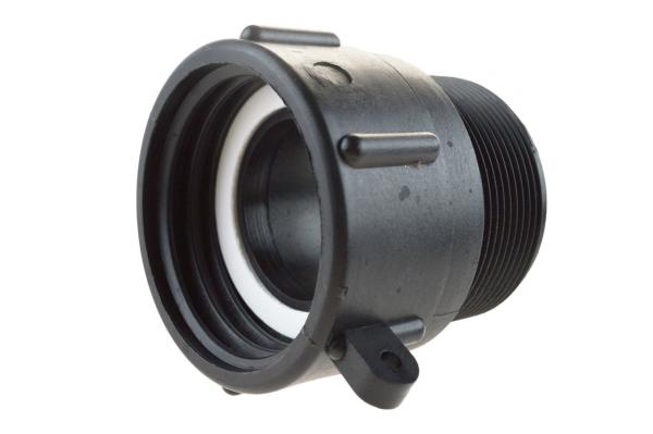 IBC Adapter NW 50 mit Innen- und Außengewinde, Kunststoff