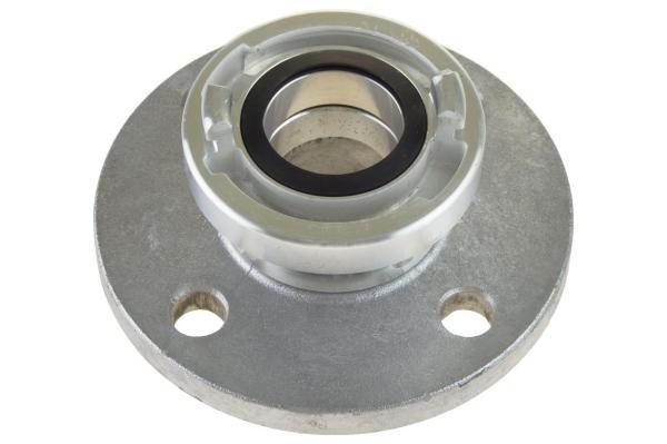 Übergangsstück System Storz auf DIN-Flansch, Aluminium geschmiedet