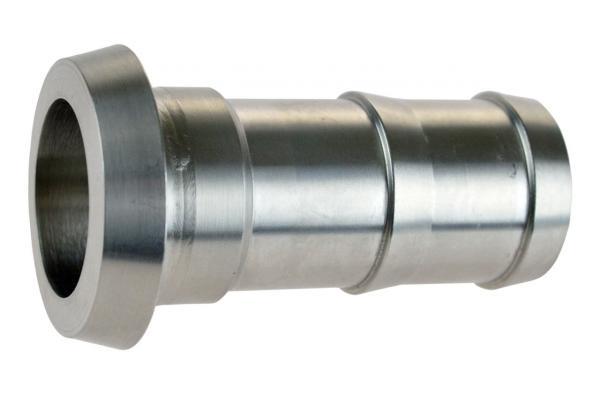 Schlauchkegelstutzen mit gedrehter Tülle, Edelstahl, DIN 11851