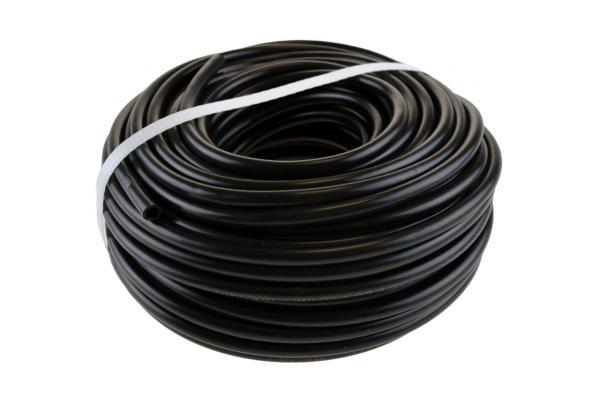 PVC-200 Mikroschlauch für Tropfbewässerung - schwarz