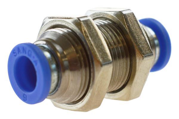 Schott-Steckverbindung, Pneumatik IQS, Standard