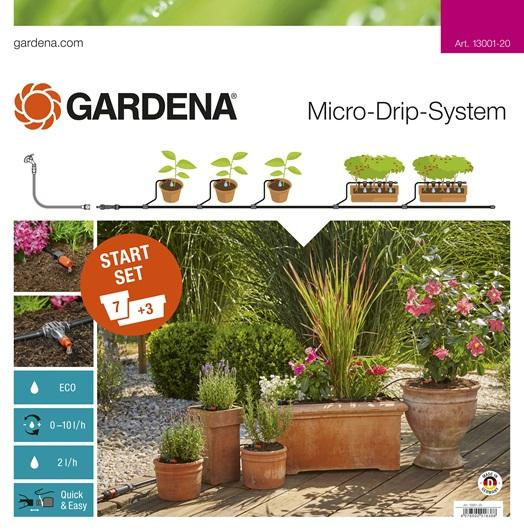 Start Set für Pflanztöpfe M, Gardena 13001-20