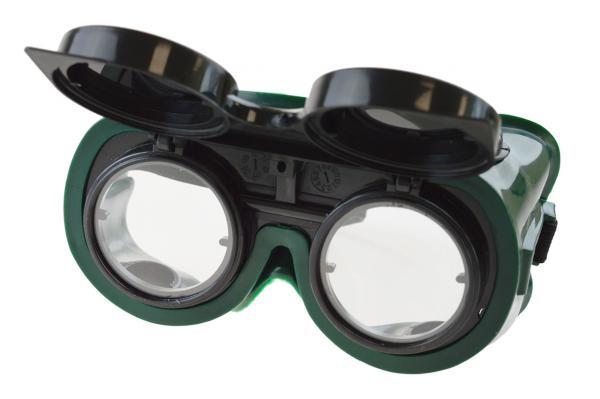 Schweißerschutzbrille, klappbar