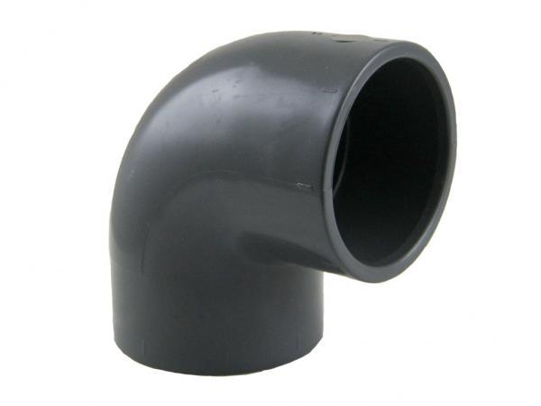 PVC Winkel 90° mit Klebemuffen