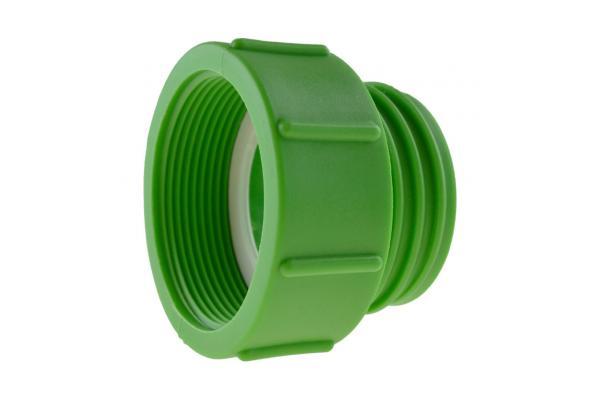 IBC Adapter mit Innengewinde (fein) und Außengewinde (grob), Kunststoff
