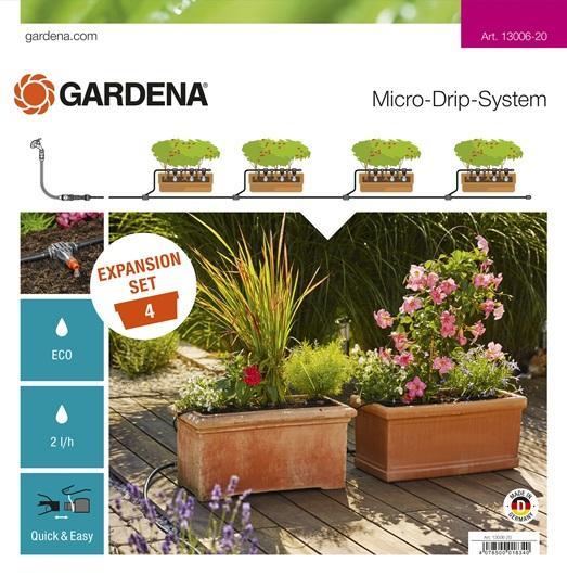 Erweiterungsset für Pflanztröge, GARDENA 13006-20