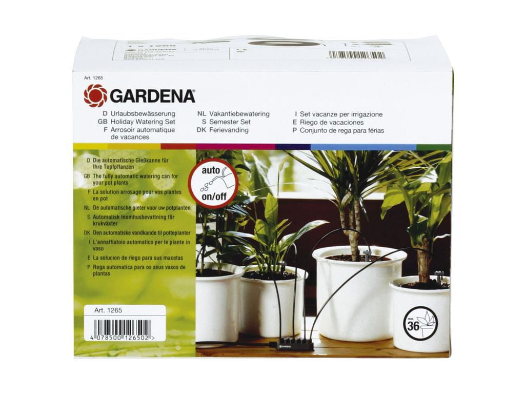 urlaubsbew sserung gardena 1265 20 1266 20 micro drip system gardena bew sserung. Black Bedroom Furniture Sets. Home Design Ideas