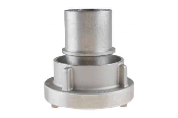 Saugkupplung mit Sicherungsbund, System Storz, Aluminium geschmiedet