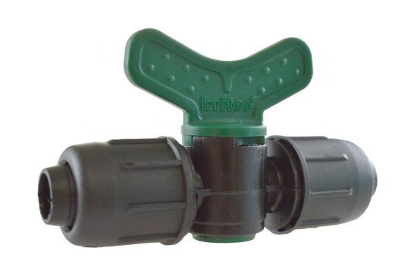 VEE - PE-Rohr Kugelhahn mit Schnellverschluss, PN 4