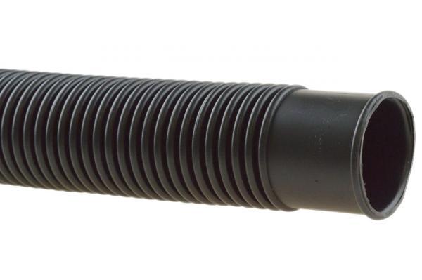 Schwimmbadschlauch mit Muffen - Solarschlauch - Poolflex - schwarz
