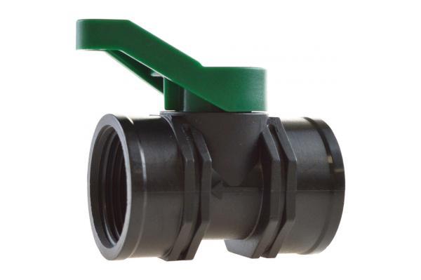 SFF - Mini-Kugelhahn mit Innengewinde, PP, PN 4