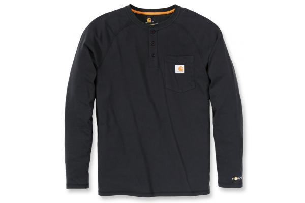 Carhartt Force® Cotton Long Sleeve Henley