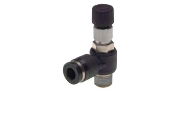 Differenzdruckregler vordruckabhängig mit Außengewinde, Pneumatik IQS, Standard