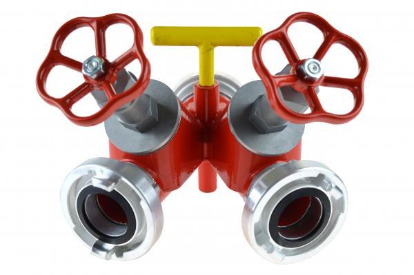 Abbildung zeigt Variante mit zwei Abgängen