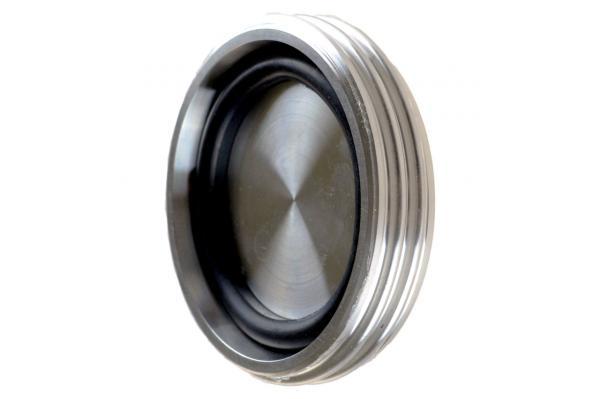 Blindgewindestutzen für Kegelstutzen, Edelstahl, DIN 11851