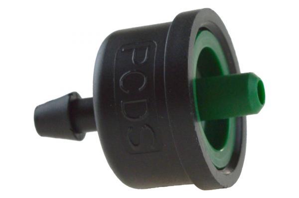 iDrop® DCS druckkompensierter Einzeltropfer, 4,0 l/h, grün