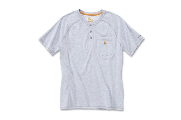 Carhartt Force® Cotton Short Sleeve Henley
