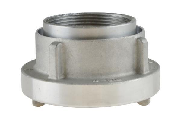 Kupplung mit Innengewinde, drehbar, System Storz, Aluminium geschmiedet