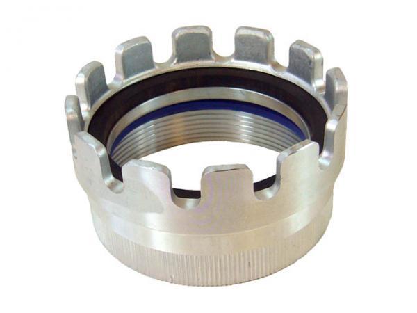 TW Kupplung mit Innengewinde Typ MK / Dichtringstück aus Aluminium, EN14420-6