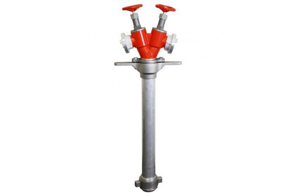 Standrohr mit Absperrung für Unterflurhydranten, System Storz