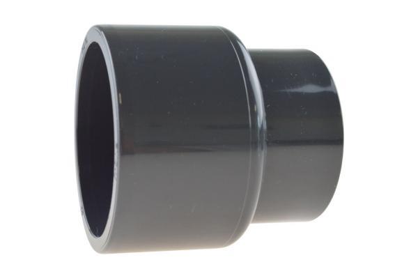 Reduziermuffe mit Klebemuffen, PVC-U